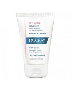 Ducray Ictyane Crème Mains Sèches, Abimées 50ml