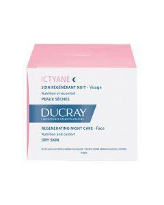 Ducray Ictyane Soin Régénérant Nuit Pot 50ml