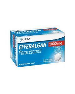 Efferalgan 1000mg 8 Comprimés Effervescents