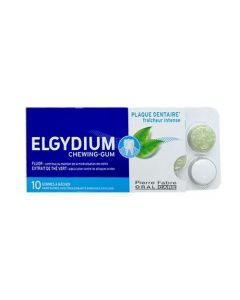 Elgydium Anti-Plaque Chewing Gum 10 Gommes