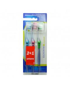 Elgydium Interactive Brosse à Dents Souple Trio