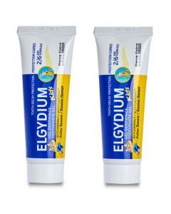 Elgydium Kids Banane (500 ppm de Fluor) lot de 2x50ml