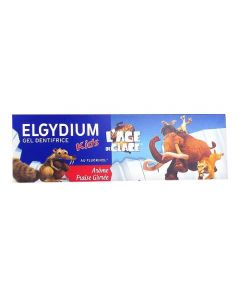 Elgydium Âge de Glace Kids Fraise givrée (500 ppm de Fluor) 50ml