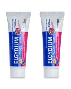 Elgydium Kids Grenadine (500 ppm de Fluor) lot de 2x50ml