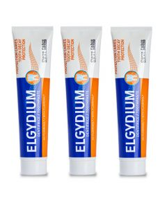 Elgydium Protection caries lot de 3x75ml