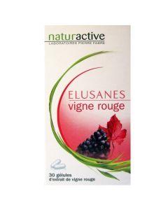 Elusanes vigne rouge 30 gélules