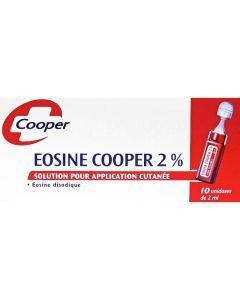 Eosine Cooper 2% 10 unidoses 2ml