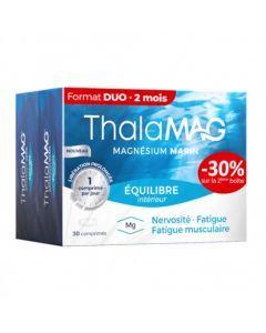 Thalamag Equilibre Intérieur Magnésium Marin 2x30 Comprimés