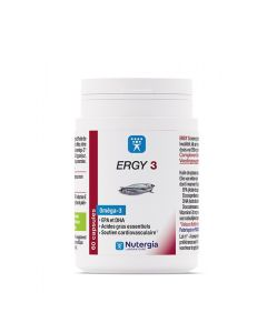 Ergy 3 Nutergia Complément Alimentaire 180 Capsules