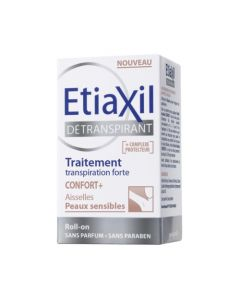 Etiaxil Détranspirant Confort+ Peaux Sensibles Roll-on 15ml