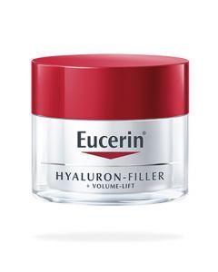 Eucerin Hyaluron-Filler + Volume Lift Soin de Jour Peaux Sèches Pot de 50 Ml