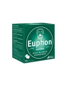 Euphon menthol 70 pastilles