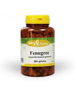 Nat&form Fenugrec 200 Gélules