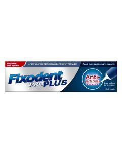 Fixodent Pro Plus Anti-particules Neutre Crème adhésive Premium Pour Prothèses Dentaires 40 g