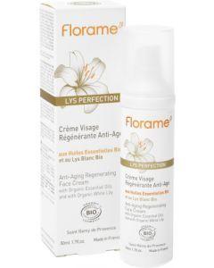 Florame Crème Visage Régénérante Anti-âge 50ml