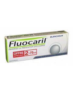 Fluocaril Blancheur Dentifrice Duo 2x75ml