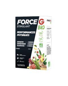 Force G Stimulant Bio Performances Physiques 20 Ampoules