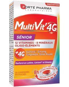 Forté Pharma MultiVit' 4G Sénior 30 comprimés