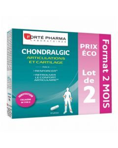 Forté Pharma Chondralgic Lot de 2x60 Gélules