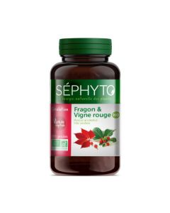 Séphyto Circulation Fragon & Vigne Rouge Bio 200 Gélules