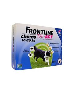 Frontline Tri-Act Chiens 10-20kg 6 Pipettes