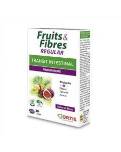 Ortis Fruits & Fibres Regular 45 Comprimés