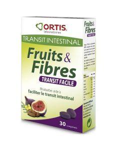 Ortis Fruits & Fibres 30 Comprimés