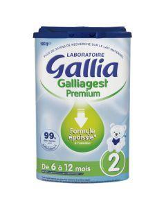 Gallia Galliagest Premium 2ème Âge 900g