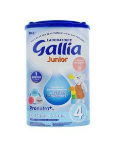 Gallia Junior 4 900g