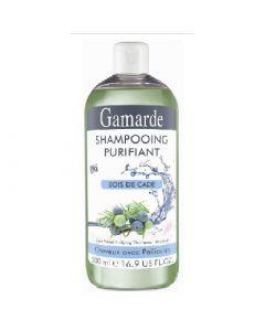 Gamarde Shampooing Purifiant au Bois de Cade Pour Cheveux Avec Pellicules 500ml