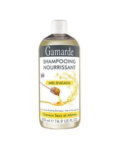 Gamarde Shampooing Nourrissant au Miel d'Acacia Pour Cheveux Secs et Abîmés 500ml