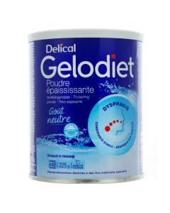 Gelodiet Delical Poudre Epaississante 225G