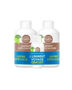 Gifrer Liniment Oléo-calcaire Lot de 2 x 500ml + 100ml offert