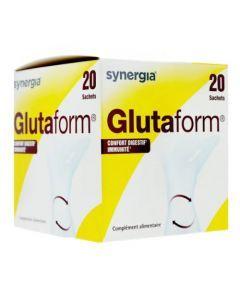 Synergia GlutaForm - Confort Digestif et Immunité 20 sachets
