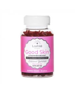 Lashilé Beauty Good Skin Vitamines Boost Peau Sublime 60 Gummies