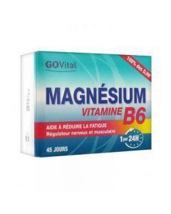 GoVital Magnésium Vitamine B6 45 Comprimés