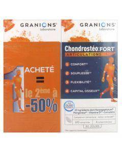 Granions Chondrostéo+ Fort Articulations 2 x 120 comprimés