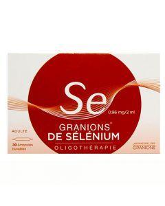 Granions de Sélénium 0.96 mg / 2 ml