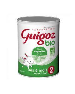 Guigoz Lait en Poudre Bio 2ème Age 800g