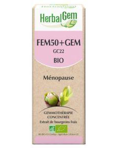 HerbalGem Bio Fem50+ Gem Ménopause 30ml