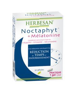 Herbesan Noctaphyt + Mélatonine - 30 Gélules