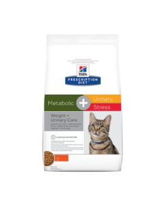 Hill's Prescription Diet Feline Metabolic + Urinary Stress 4kg