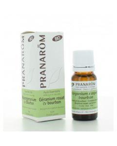 Pranarôm Huile Essentielle Géranium rosat cv bourbon - 10 ml