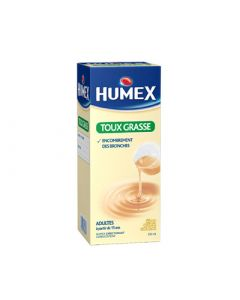 Humex adultes expectorant sans sucre 250 ml
