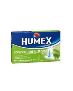 Humex Conjonctivite Allergique 2% Collyre 10 Unidoses