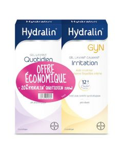 Hydralin  Gyn 200ml + Quotidien 200ml Duo