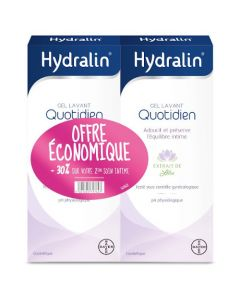 Hydralin Quotidien Gel Lavant 400ml Duo