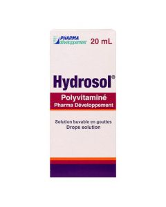 Hydrosol Polyvitamine Pharma Développement Solution Buvable en Gouttes 20ml