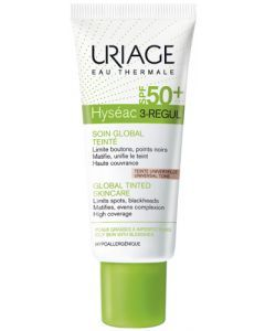 Uriage Hyséac 3-Régul Soin Global Teinté SPF50+ 40ml