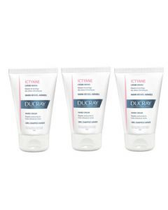 Ducray Ictyane Crème Mains Lot de 3x50ml